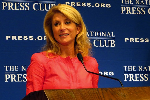 Women's rights hero Wendy Davis enters Texas governor race