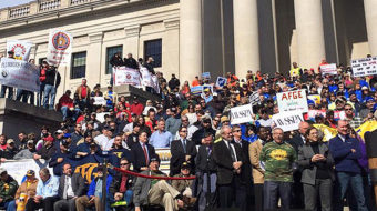 """West Virginia workers launch """"insurrection"""" in state capital"""