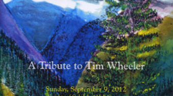 Editor Tim Wheeler saluted by family, friends and fans