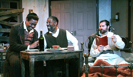 "A dramatic meditation on freedom: ""The Whipping Man"""