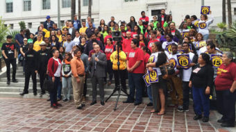 It's official! LA City Council votes hike in minimum wage to $15