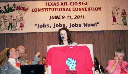 Texas AFL-CIO meet was bright spot in dark sky