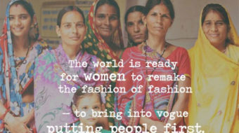 "Fair trade ""fashionistas"" mark Bangladesh disaster with action"