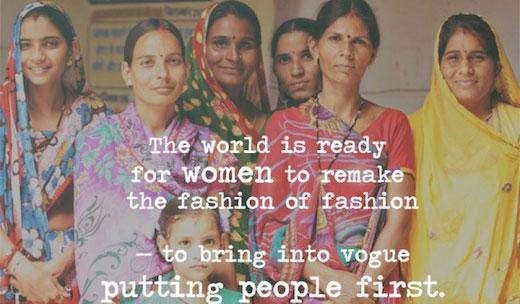 "Fair trade ""fashionistas"" mark Bangladesh disaster with action"