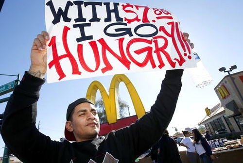 PW in the streets: Do fast food workers deserve $15?