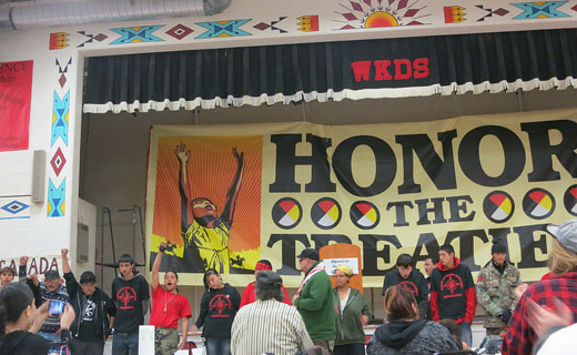 "Keystone XL pipeline means ""death"" for Native Americans"