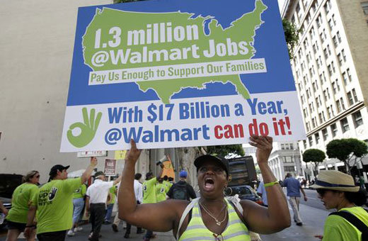 Ruling by Labor Board is most damning ever against Walmart