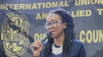 Tiffany Dena Loftin: Vision, solutions will strengthen labor movement