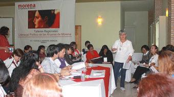 Morena taking steps towards gender equality