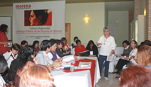 Morena taking steps towards gender equality