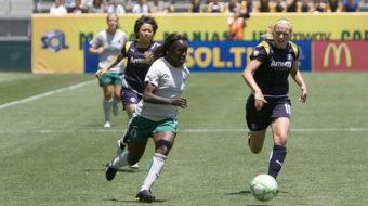 Women soccer players score union recognition