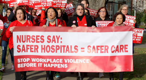 Nurses union asks OSHA for workplace violence standard