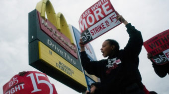 Hartford and New Haven join fast-food workers strike in 150 cities