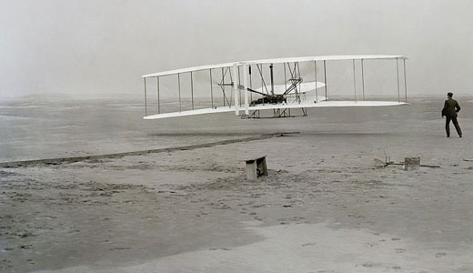 Today in labor history: Wright brothers make first flight