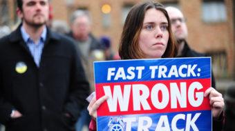 Labor leaders halt political contributions until after fast-track vote