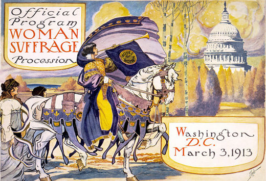 Remembering: The Woman Suffrage Parade of 1913