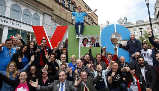 Ireland: gay marriage approved with a landslide yes
