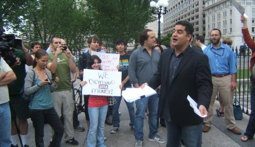 Rally at Treasury: Goldman Sachs owes us $13 billion