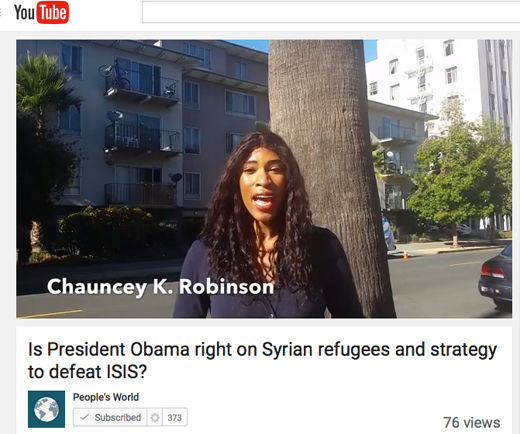 PW in the streets: People weigh in on defeating ISIS and Syrian refugee crisis