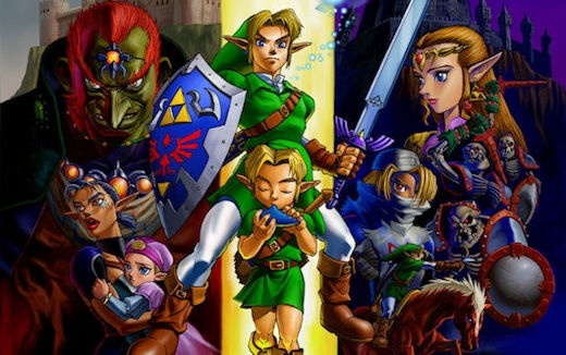 Replaying Zelda from a progressive perspective