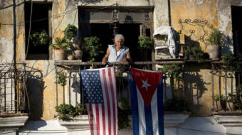 U.S.- Cuba relations not normalized until blockade ends