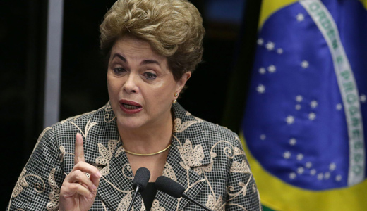 Ousted Dilma Rousseff to Brazilians: Believe in democracy, dream of justice