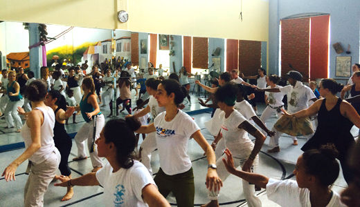 Women's Capoeira weekend in Connecticut fuses art and struggle