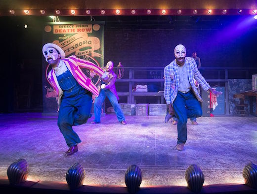 "Politics, music, drama alive on death row in ""Scottsboro Boys"""