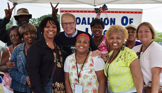 "Ohio senatorial candidate Ted Strickland: ""Future of unions is at stake"""