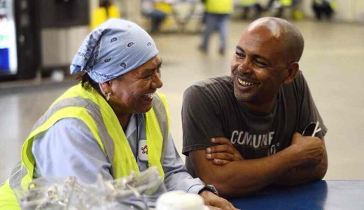 AFL-CIO Exec. VP Tefere Gebre addresses immigration on two coasts