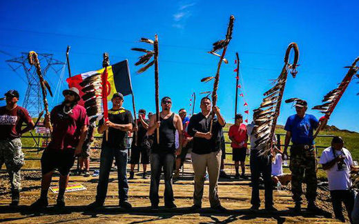 Confrontation on the Northern Plains: Native Americans fight to stop Dakota Access pipeline