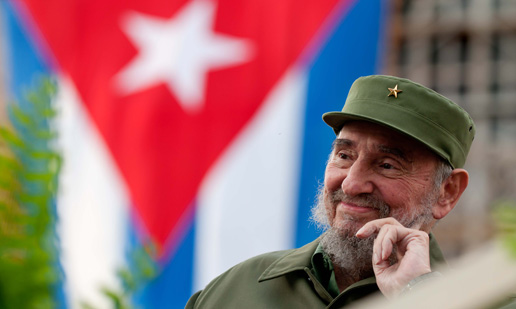 Fidel Castro, leader of Cuban revolution, turns 90