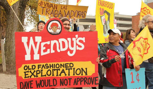 Wendy's grilled by farmworkers for not signing fair food pledge