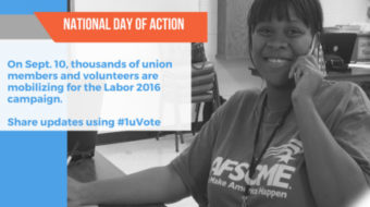 Sign up for Labor's election day of action this weekend!