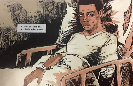 """Kindred"": Octavia Butler's dark fantasy gets the graphic novel treatment"