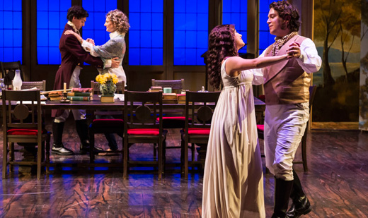 """Arcadia"": Tom Stoppard's complex Byronic drama to the manor born"