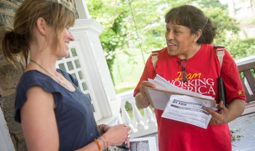 Working America: Knocking on doors, changing politics