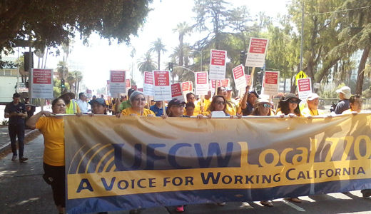 Southern California: 47,000 grocery workers prepare to strike