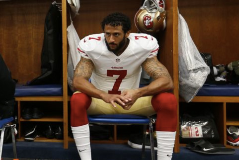 49ers' QB sits for National Anthem in protest of police brutality