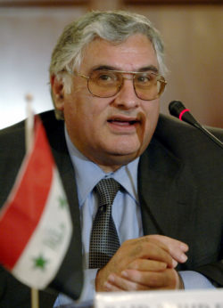 Raid Fahmi, former Iraqi Minister of Science and Technology. | Riccardo De Luca/AP