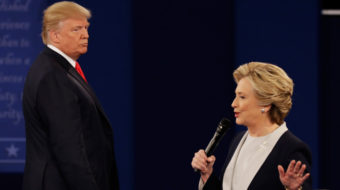 In the second debate, Trump said he's above the law