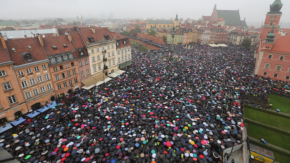 After mass protests, Poland won't back total abortion ban