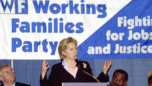 Working Families Party endorses Clinton