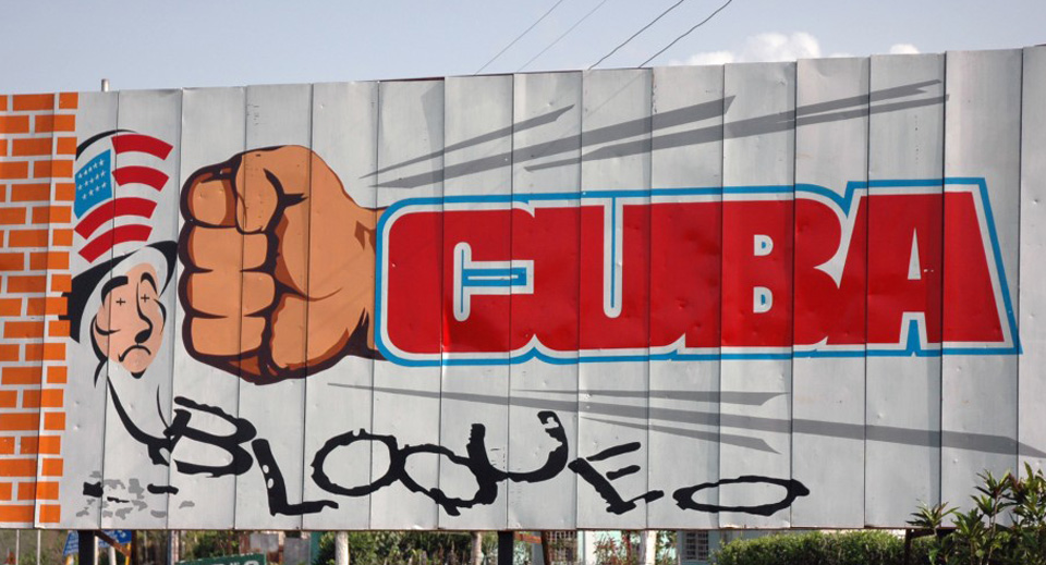 Cuba's report on U.S. blockade speaks for justice