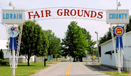 Protests against Confederate flag at Lorain, Ohio County Fair