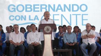 El Salvadoran leader discusses battle to end corruption