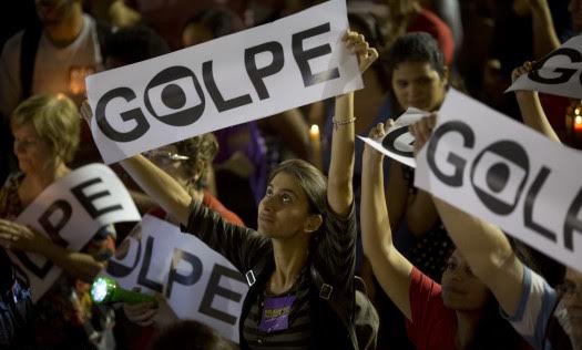 U.S. unions, lawmakers protest Rousseff overthrow in Brazil