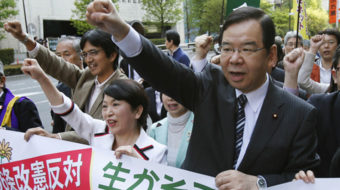 Japanese Communists hit government over censored TPP documents