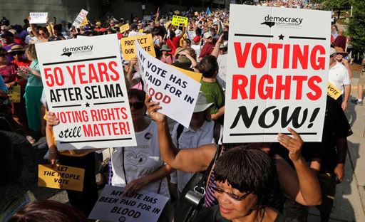 Courts block some voter suppression laws