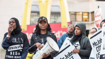 """Fight for $15: """"McDonald's, take sexual harassment off the menu"""""""